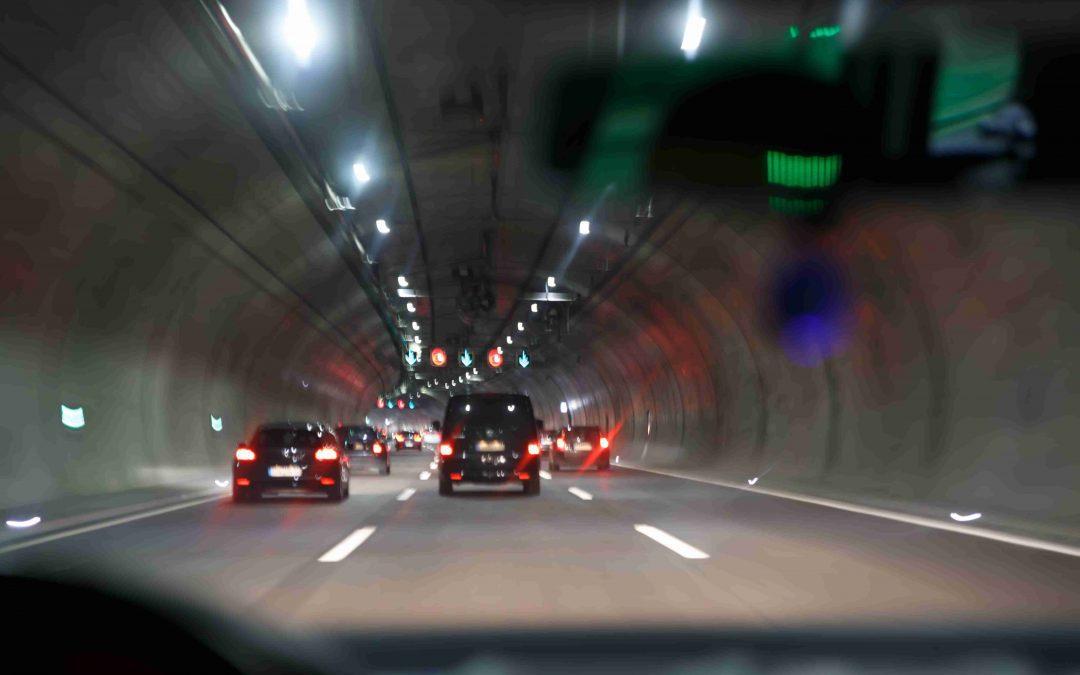 Tunel bez elektrickej energie nefunguje