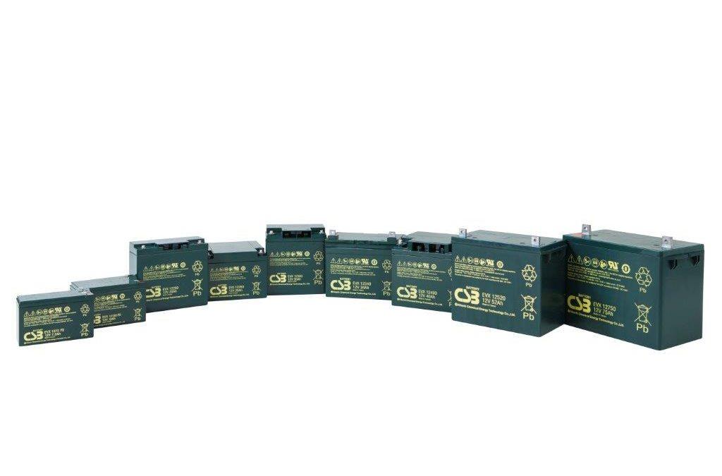 Trakčné batérie CSB