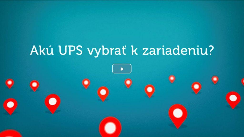 Akú UPS vybrať - tri typy UPS